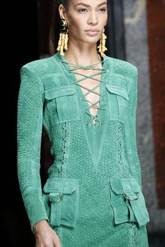 A detailed look at Balmain Spring 2016