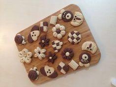 Kurabiye Şekilleri Yapımı - YouTube Cookie Bowls, Cookie Pie, Brownie Cookies, Mini Wedding Cakes, Pastry Art, Fancy Cookies, Homemade Beauty Products, Bake Sale, Baking Tips