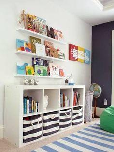 Image result for ikea bookshelf ideas kids