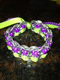 Soda Can Tab Ribbon Tied Bracelet by StacNKaitDesigns on Etsy, $6.00