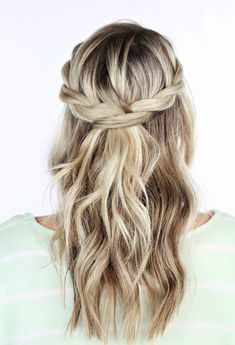 25 simple and chic wedding guest hairstyles - crazyforus - 25 simple and chic . - 25 simple and chic wedding guest hairstyles – crazyforus – 25 simple and chic wedding guest hai - Wedding Hairstyles Half Up Half Down, Half Up Half Down Hair, Wedding Hair Down, Down Hairstyles, Hairstyle Wedding, Hair Updo, Holiday Hairstyles, Easy Hairstyles, Formal Hairstyles