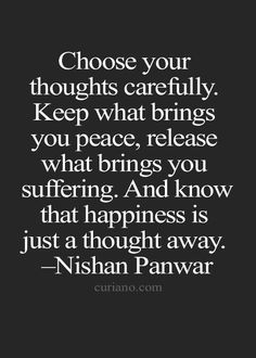 Restructuring my thought process to capture the ruminating thoughts of my negative past with positive ones of unconditional love, peace & happiness.