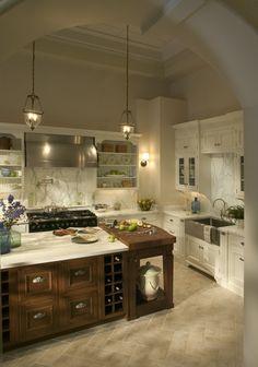 Kitchens That sink and stove - yowza