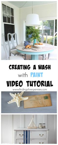 Creating A Wash with Paint (video tutorial)