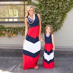 Patchwork Mom and Daughter Dress $21.96 Mommy Daughter Dresses, Mother Daughter Dresses Matching, Mommy And Me Dresses, Mommy And Me Outfits, Matching Family Outfits, Baby Girl Dresses, Kids Outfits, Matching Clothes, Mom Daughter