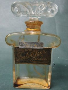 INTRIGUE by Rygren Perfume Bottle from Argentina !