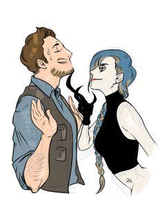 Owen & Blue (Human)