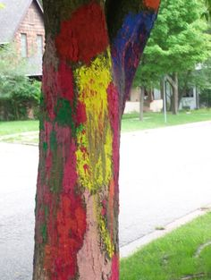 Art Camp Trees :: picture by susancwright - Photobucket Art Camp, Public Art, Trees, Pictures, Painting, Photos, Tree Structure, Painting Art, Paintings
