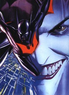Batman Beyond Vs. Joker by Alex Ross