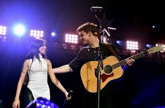 Behold: Camila Cabello and Shawn Mendes Falling In Love Right Before Our Eyes at Jingle Ball Last Night  - Seventeen.com