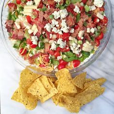Cobb Salad Dip. It's like Cobb Salad but even better.