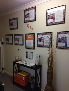 Sunrise Kids Early Learning Centre displays their QIP for feedback