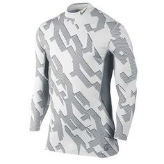 MEN'S NIKE PRO COMBAT DRI-FIT MAX HYPERWARM FITTED SHIRT LONG SLEEVE CHAINMAILLE #Nike #ShirtsTops Nike Pro Combat, Chainmaille, Nike Pros, Workout Shirts, Nike Men, Online Price, Long Sleeve Shirts, Best Deals, Fitness