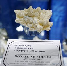 Classic Witherite Crystals from Cumberland, England