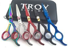 Professional Salon Barber Hairdressing Hair Cutting Titanium Scissor Shears Best #TroyScissors