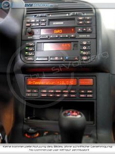 Very nice spec'd BMW e36 interior: Radio Business RDS, Climatronic, 18 button OBC, etc.