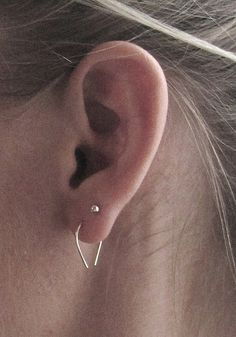 earring without back stud