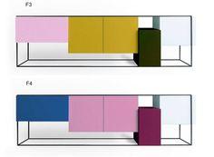 Varnished Buffet: Framed Cabinet by Moca Cabinet Furniture, Cool Furniture, Modern Furniture, Furniture Design, Modern Sideboard, Credenza, Workplace Design, Modern Table, Living Room Modern