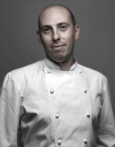 Damien Piscioneri. Chef pâtissier à Café Pouchkine