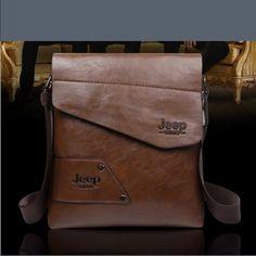 Men bag jeep The new 2015 leisure bag jeep bag business Korean male bag vertical inclined shoulder bag can hold iPAD Jeep Bags Shoulder Bags
