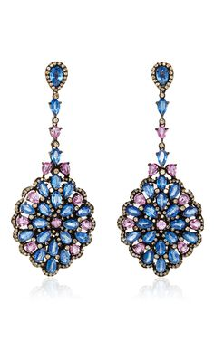 Kirtida Earrings  by LAUREN CRAFT COLLECTION for Preorder on Moda Operandi