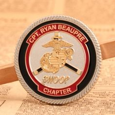 As a professional challenge coin maker, GS-JJ specializes in various cheap challenge coins and Marine Corps challenge coins. Top quality and best price are available for all military coins now. Military Challenge Coins, Sale Logo, Free Artwork, Military Branches, Metal Pins, Marine Corps, Lapel Pins, Save Yourself