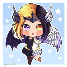 No photo description available. Kawaii Chibi, Cute Chibi, Miya Mobile Legends, Moba Legends, Alucard Mobile Legends, Legend Drawing, Mobile Legend Wallpaper, Legend Games, The Legend Of Heroes
