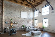 Brick Loft in Los Angeles (you can also rent it on airbnb)