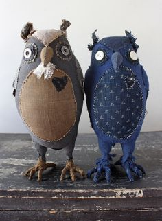 * The owls and everything below (plus some lambs in pants) are in the shop now. Meet Mr. Snodd and Mr Gunderson. The best of friends.  I spent the last couple weeks finishing things, getting almost…