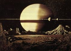 Original Creators: Father Of Modern Space Art Chesley Bonestell | The Creators Project