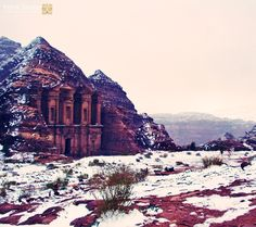 #Winter #Petra #Eldier #the_monastery #Jordan