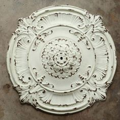 Creative Co-op Round Metal Ceiling Medallion from Elizabeth's Embellishments