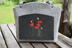 Filzasche, Dirndl Handtasche, Shopper von *Margot-Atelier* auf DaWanda.com