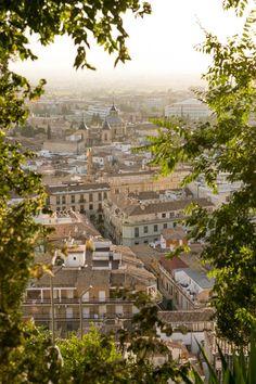 View of Granada from the Albaicin  , Spain