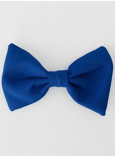 Matches a blue dress.