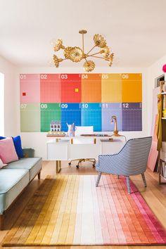 Office Interior Design, Home Office Decor, Office Interiors, Home Decor, Creative Office Space, Creative Home, Creative Studio, Wall Planner, Office Makeover