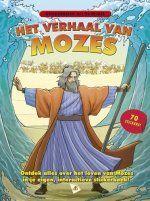 Het verhaal van Mozes - Stickerboek