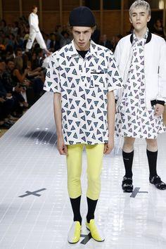 Menswear - Spring 2017 Kenzo