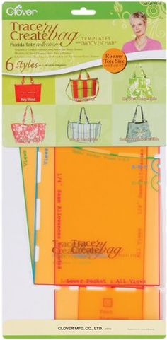 Amazon.com: Trace 'n Create Bag Templates With Nancy Zieman-Fl 1 pcs sku# 650977MA: Arts, Crafts & Sewing