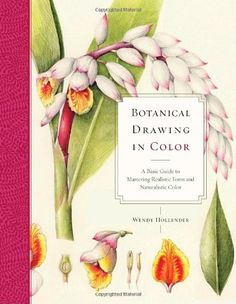 Botanical Drawing in Color: A Basic Guide to Mastering Realistic Form and Naturalistic Color by Wendy Hollender http://www.amazon.com/dp/0823007065/ref=cm_sw_r_pi_dp_FpL.ub1AFC82K