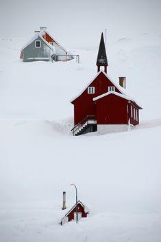 Wedding Red Winter ....Church red...