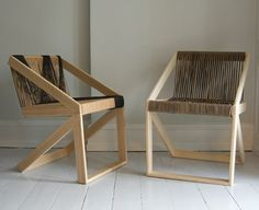 Chairs from recycled pallets on http://brvndon.com