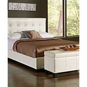 Hawthorne Bedroom Furniture Collection, White Leather