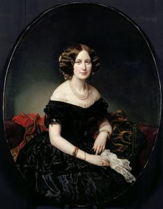 Portrait de la baronne de Weisweiller, 1853 | In the Swan's Shadow