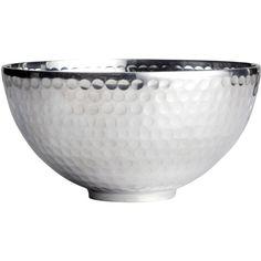 H&M Metal bowl (77 CNY) found on Polyvore