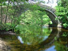Ivelet Bridge, Swaledale - Summer
