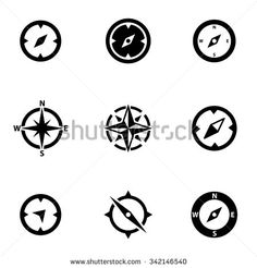 Stock Images similar to ID 115847068 - compass wind rose. wind ...