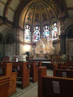 """walkinginthelightblog: """"It became obvious why Catholics had built such beautiful cathedrals and churches throughout the world. Not as gathe..."""