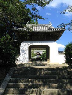 Kokawadera Temple Chinese Gate