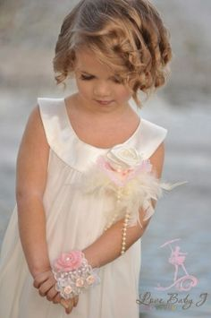 Bib neckline, cute little dresses for flower girls. Precious Children, Beautiful Children, Beautiful Babies, Simply Beautiful, Flower Girls, Flower Girl Dresses, Tutu Dresses, Daddys Little Girls, Little Girl Dresses